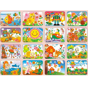 Foam Toys Custom Eva Mosaic Sticker for Kids