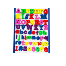 Magnetic Mini Kids Customized Dry Eraser Cardboard Magic Whiteboard ABmp03