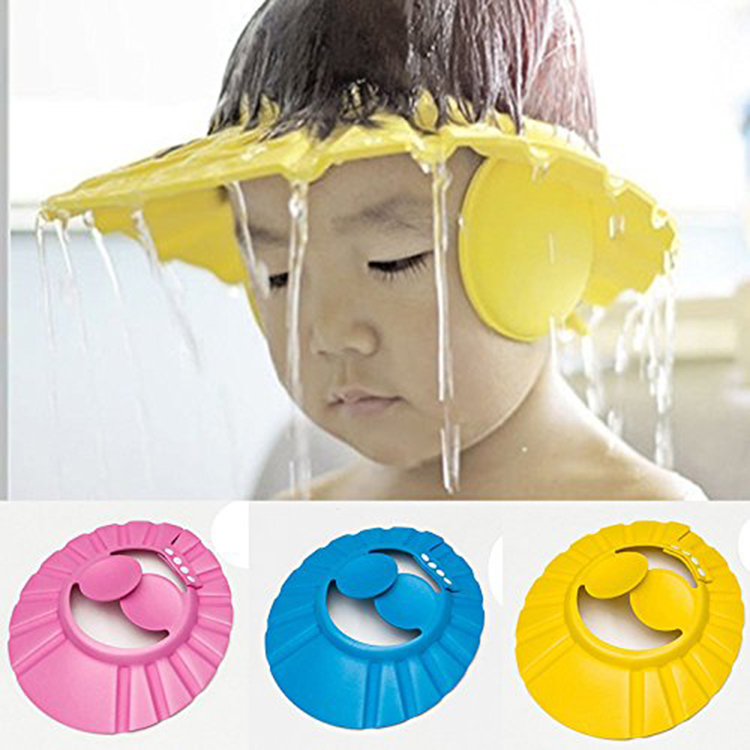 Why is a baby bathing cap necessary?