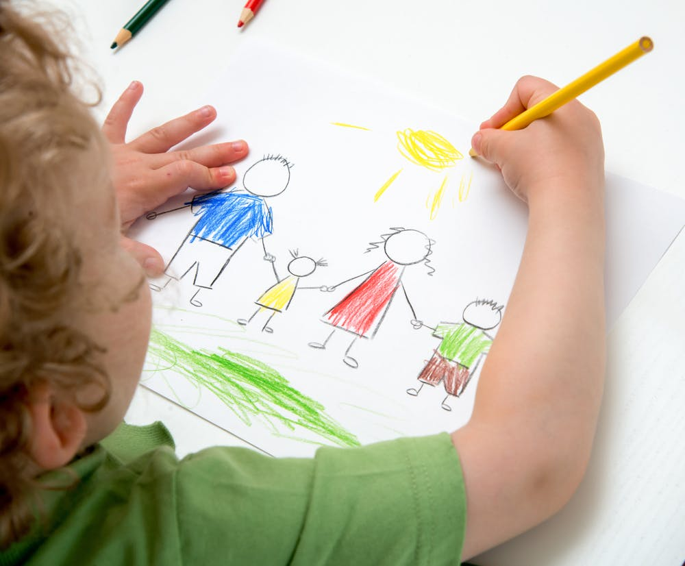 The Benefits of Children Learn to Draw
