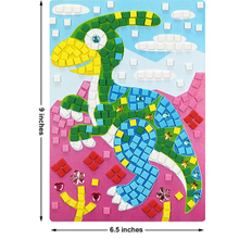 ABMS007 Preschooler Arts And Crafts Foam Mosaic Sticker