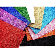 Custom Size Eco Friendly Glitter Eva Foam Sheet ABset04